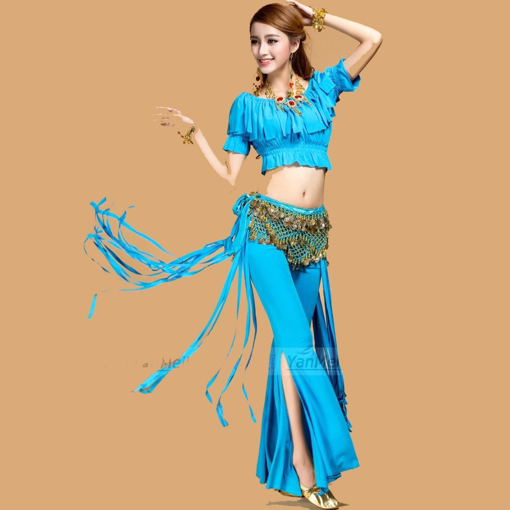 Egyptian Belly Dance Costume Set Professional 2 Pcs Top ...