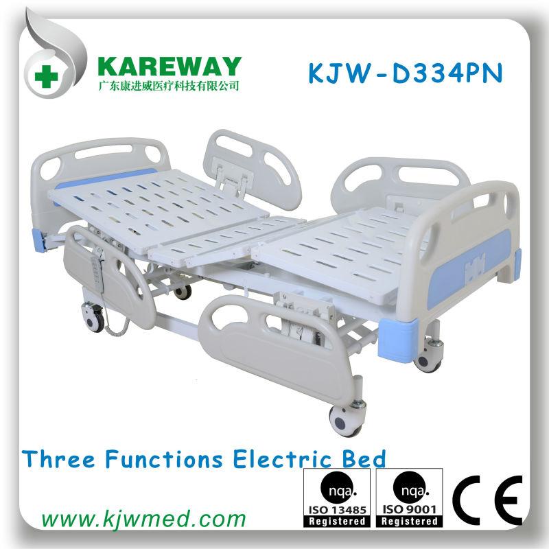 trois lit d 39 h pital lectriques pi ces de gros moteurs. Black Bedroom Furniture Sets. Home Design Ideas