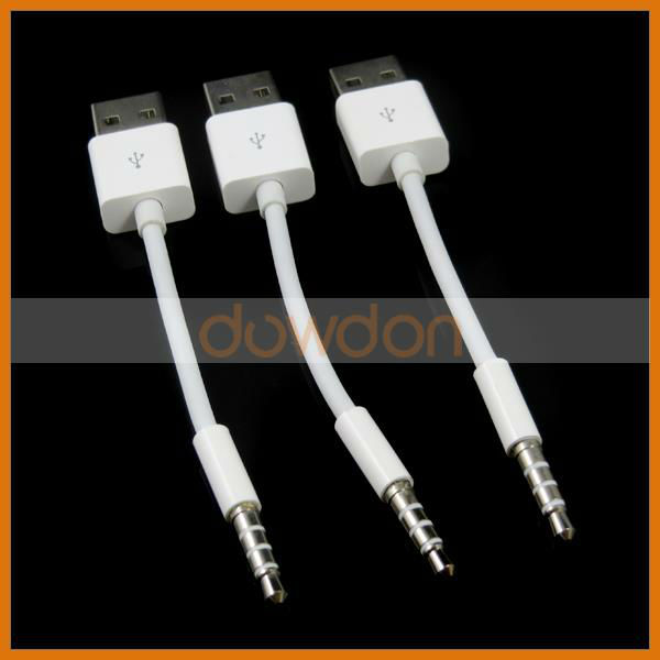 wholesale for ipod shuffle cable 3rd 4th 5th to usb. Black Bedroom Furniture Sets. Home Design Ideas