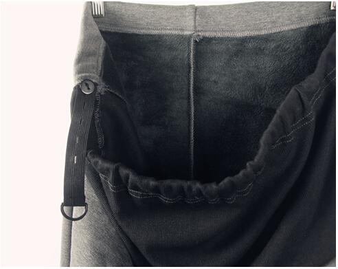 בגדי הריון סתיו חורף צועד כותנה רזה בתוספת קטיפה עיבוי חותלות לנשים בהריון משלוח חינם