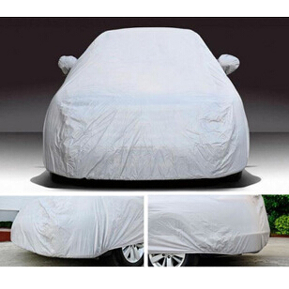 Универсальный стайлинга автомобилей анти-уф покрытие автомобиля пылезащитный автомобиль одежда транспортного средства анти-царапинам внедорожник поверхность протектора полный L XL