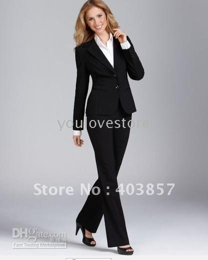 Black Women Suit Women Business Suit Designer Women Suit ...