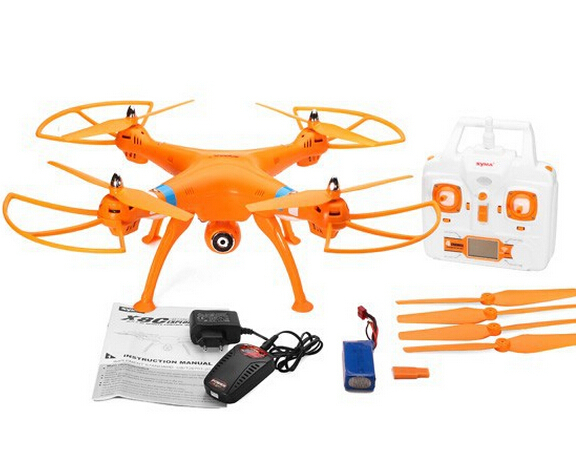 Syma X8C&X8 2.4G 4ch 6 Axis With 2MP Wide Angle HD Camera RC Quadcopter RTF