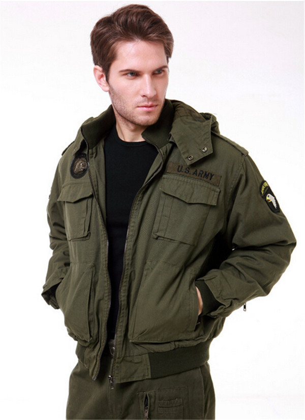 Winter Mens Air Force 1 Military Style Bomber Jackets
