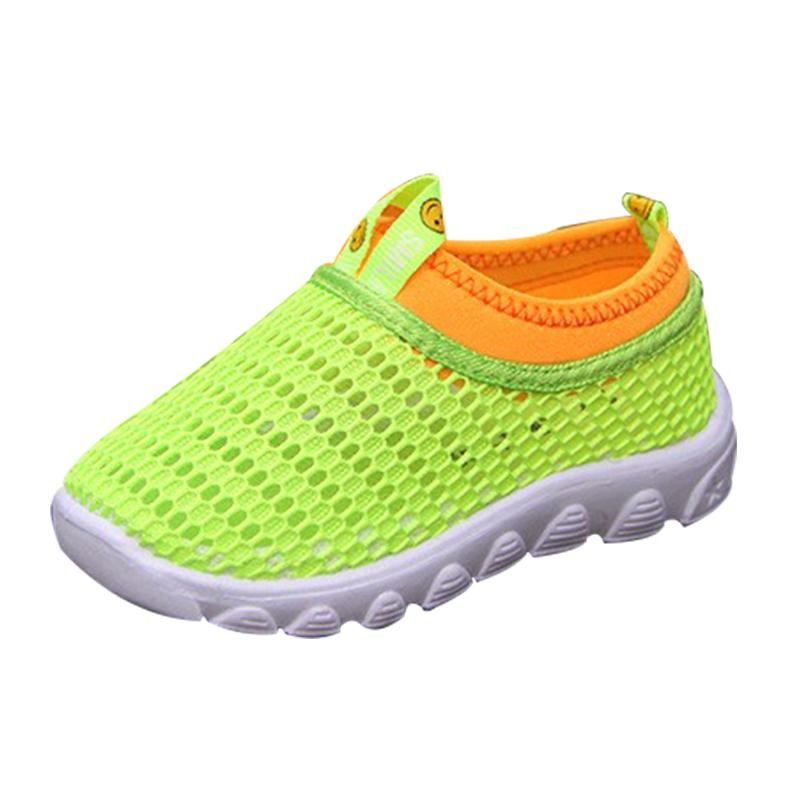 2016 light shoes gauze sport shoes sandals breathable shoes network children shoes