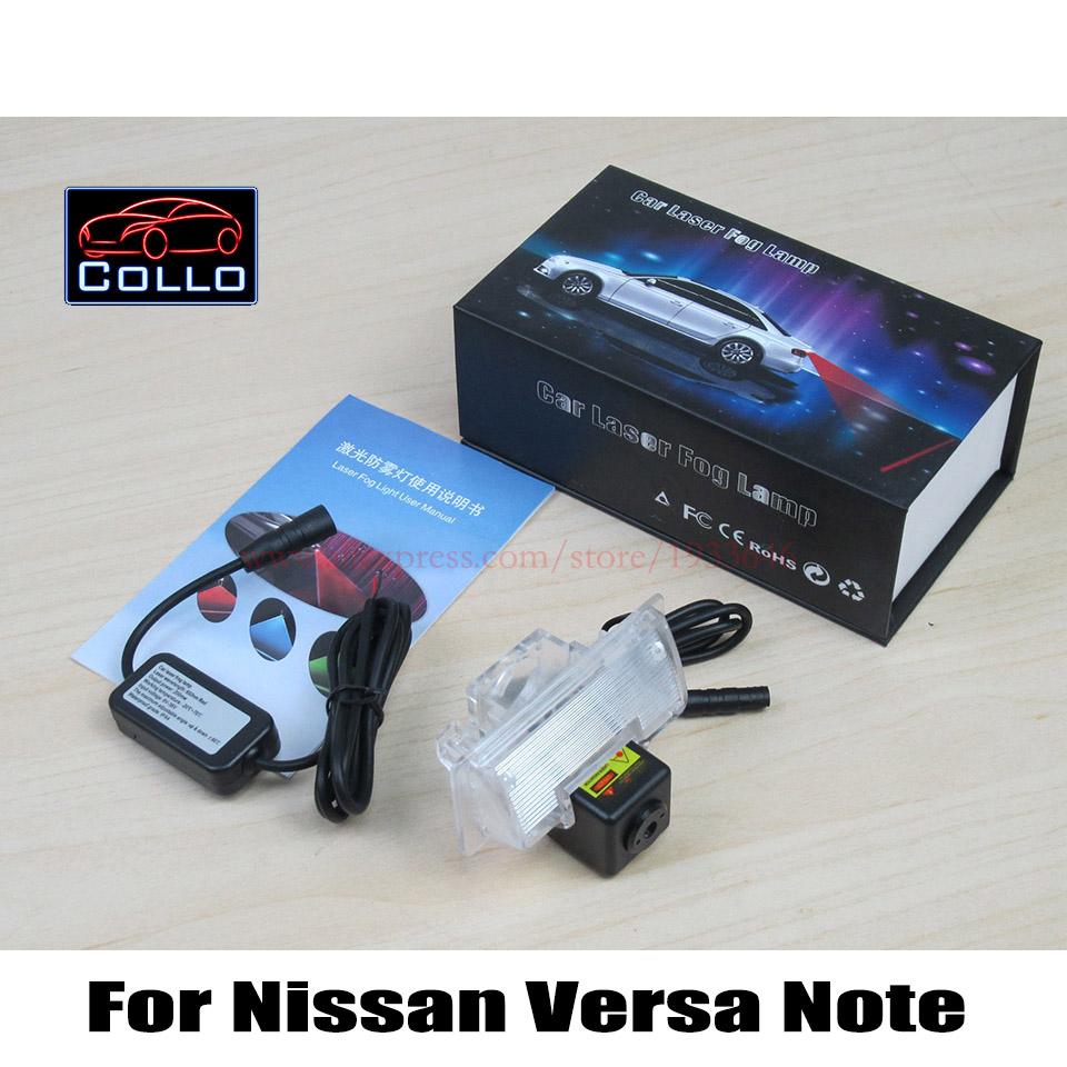 Новые 12 В стайлинга автомобилей лазерные задние противотуманные фары / для Nissan Versa примечание 2014 ~ 2015 / предотвращения столкновений сзади - конец авто предупреждающий огонь / из светодиодов
