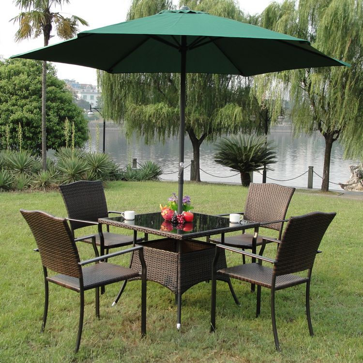 Clearance Rattan outdoor leisure furniture balcony patio ...