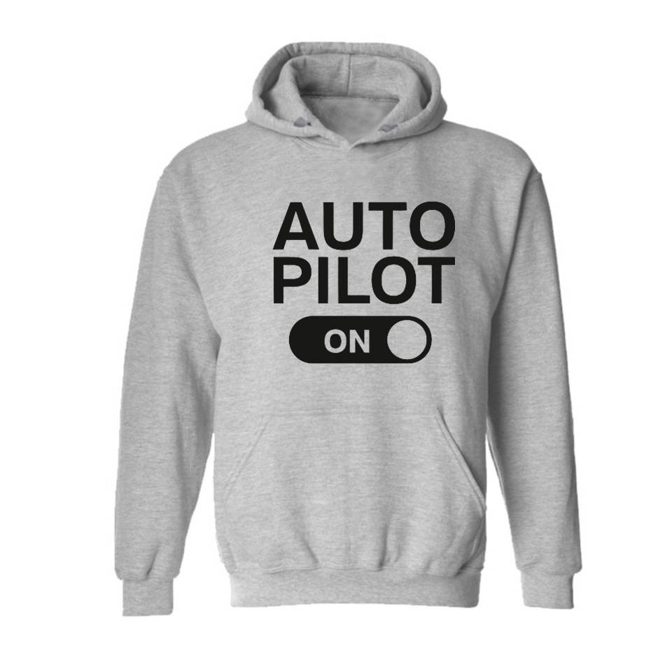 f0c39dce659 2019 Wholesale Auto Pilot On Design Man Hooded Sweatshirt High Quality Men  Hoodies Sweatshirt Hot Sale Clothes LA150 From Fenghuangmu