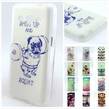 Fashion Pattern design Soft TPU Rubber Case Back Cover Skin Pouch For Samsung Galaxy Core 2 G355H Core2 II G355