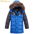 Kindstraum 2016 New Kids Boys Hooded Parka Duck Down Coat 3 Colors Fashion Outwear Sports Jacket