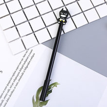 Милые студенческие ручки супергероя Капитан Америка Железный человек 0,5 мм, гелевые ручки для подписи, корейские Канцтовары(Китай)