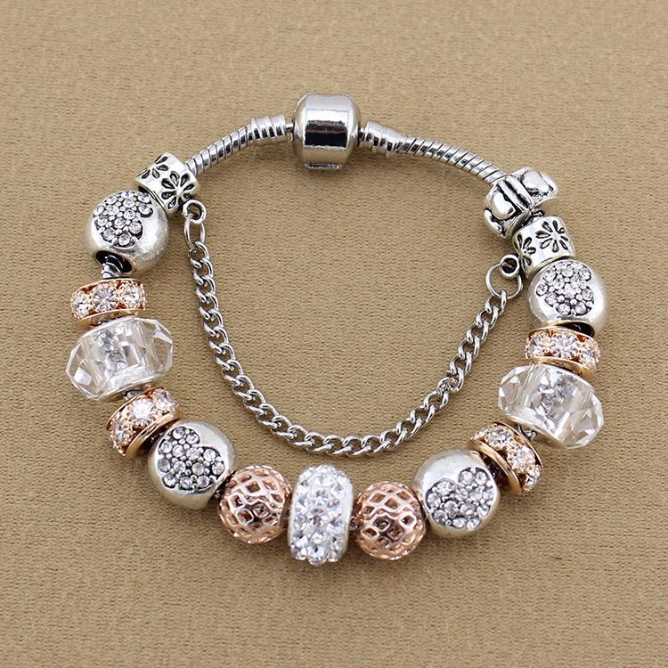 Pandora Type Jewelry: Pandora Style Silver Bracelet