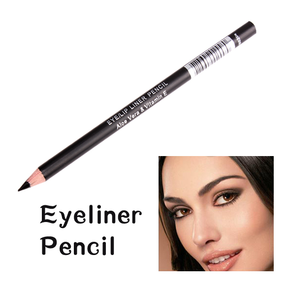 New Black Waterproof Eyebrow Pen Lasting Charming Cosmetics Eyeliner
