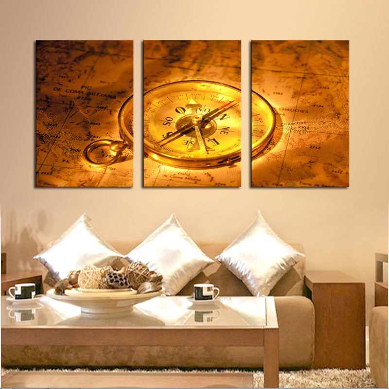 Aliexpress Com Buy Unframed 3 Panel Vintage World Map: Online Kopen Wholesale Vintage Wereldkaart Stof Uit China