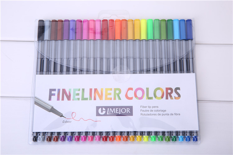 2019 Fineliners Pens Pastel Set Coloring Marker Pens Arts Painting Pencils  Fiber Tip Pen Children For Coloring Books 0.4mm From The_one, $5.14 | ...