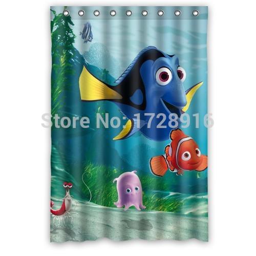 Finding Nemo Shower Curtain 48x72 Inch Pop Design Bathroom