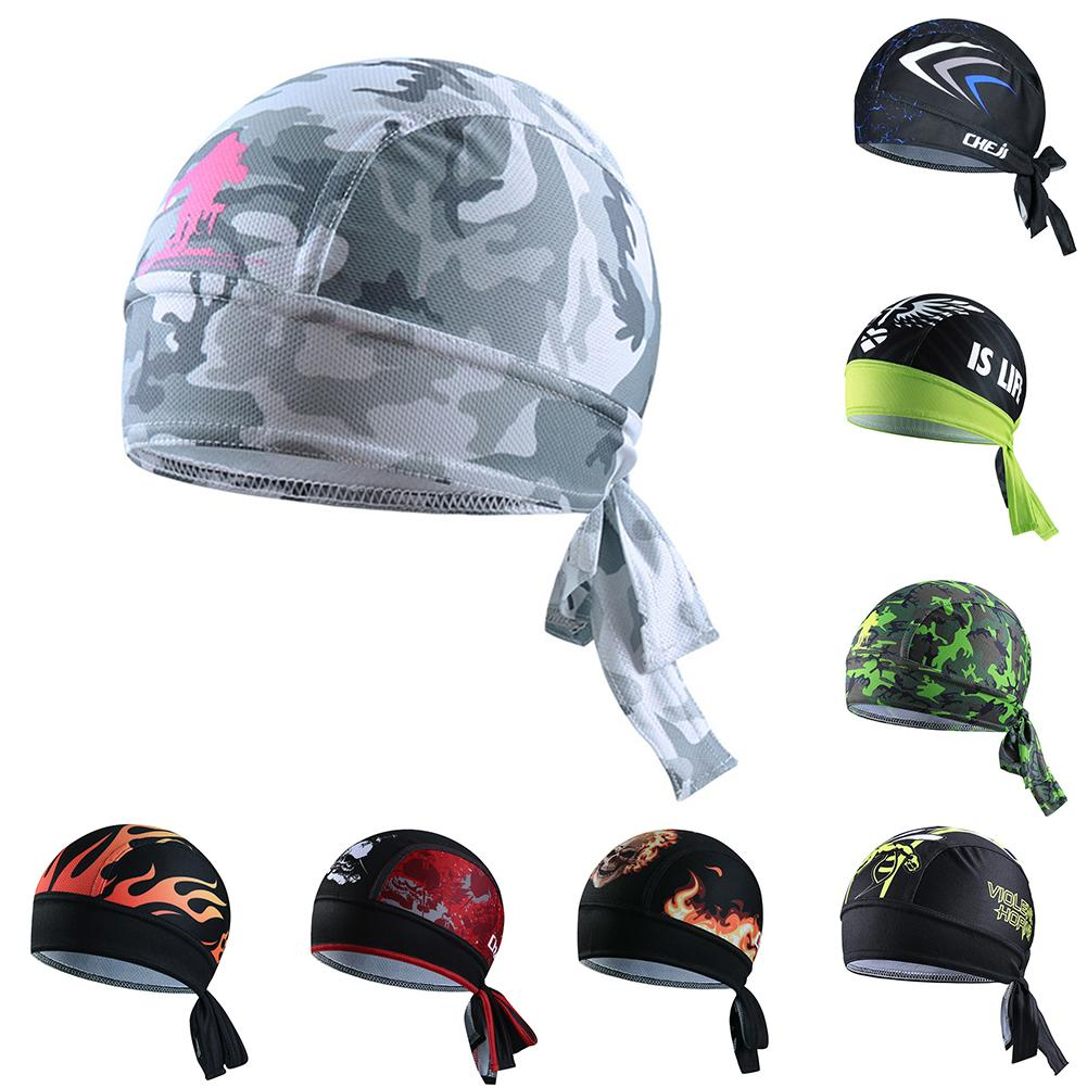 455f98ab1 Summer Men Bike Cooling Hat Breathable Cycling Helmet Cap Head Scarf