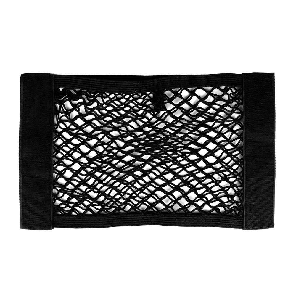 Onever практичная Автоматическая сумка для хранения в багажник автомобиля 39*23 см эластичный сетчатый карман держатель для багажа органайзер д...(Китай)