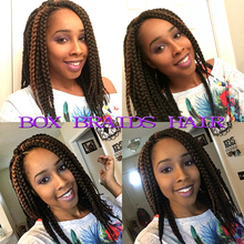 Hot Sale Havana Mambo Twist 3X Braid Hair Senegalese Twist Crochet Synthetic Hair Kanekalon Kinky Marley Twist  Braids
