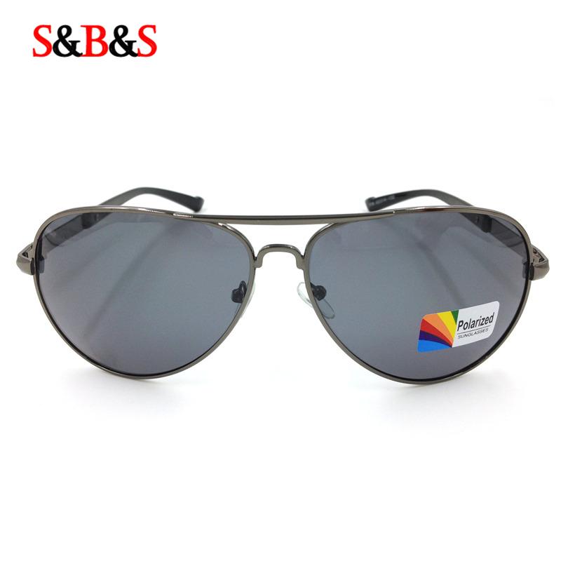 солнцезащитные очки мужчин водитель моды классический бренд поляризованные  очки, высокое качество Авиатор лягушка зеркало РБ 060a9b51a43