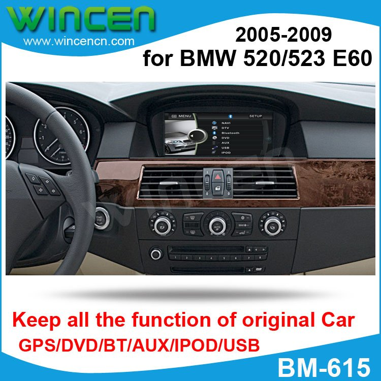 6 5 car dvd gps player for bmw 520 523 e60 2005 2009 with. Black Bedroom Furniture Sets. Home Design Ideas