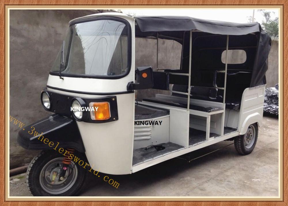 India Bajaj Tricycle Bajaj Tuk Tuk Gas Powered Tricycle