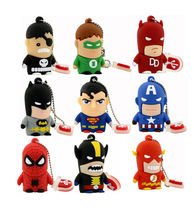 spider super man hero Avengers usb 2 0 flash drive creativo font b pendrive b font