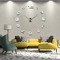 2014 חדש MAX3 יצירתי הסלון, חדר השינה השתקת שעון קיר שעון כיף DIY שעון קיר ספרות רומיות