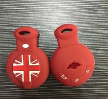 Silicosilicone key cases key sets Cover Car Accessories For BMW Mini Cooper Clubman countryman R56 R57 R58 R60 R61