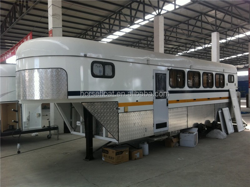 High Quality Gooseneck Horse Float Trailer Made To