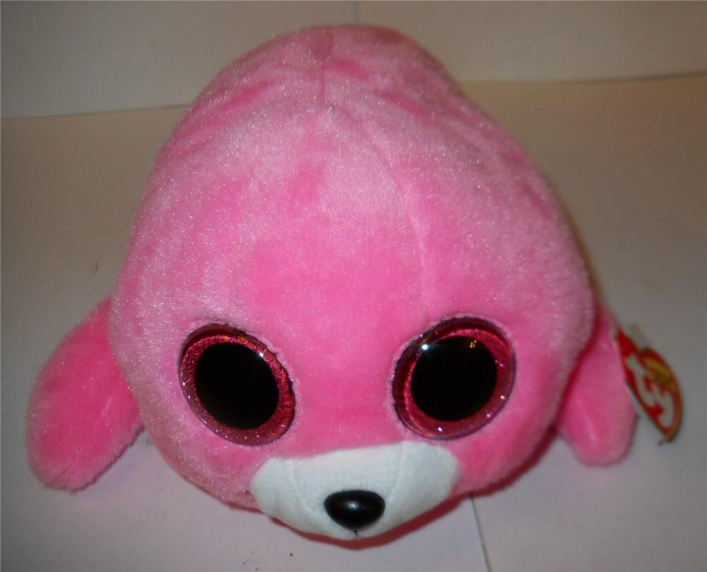 dcfe9378c0b 2019 Pyoopeo Original 6 15 Cm TY Beanie Boos Pierre Pink Seal ...