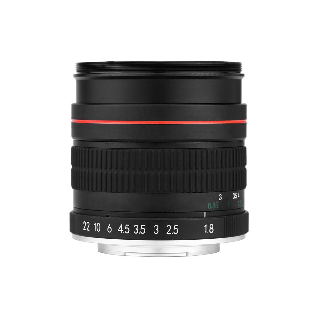 Kelda 85 мм F1.8 ручная фокусировка портрет для Nikon камеры DSLR