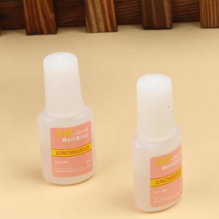 Nail Art Glue Tips Glitter Uv Acrylic Rhinestones