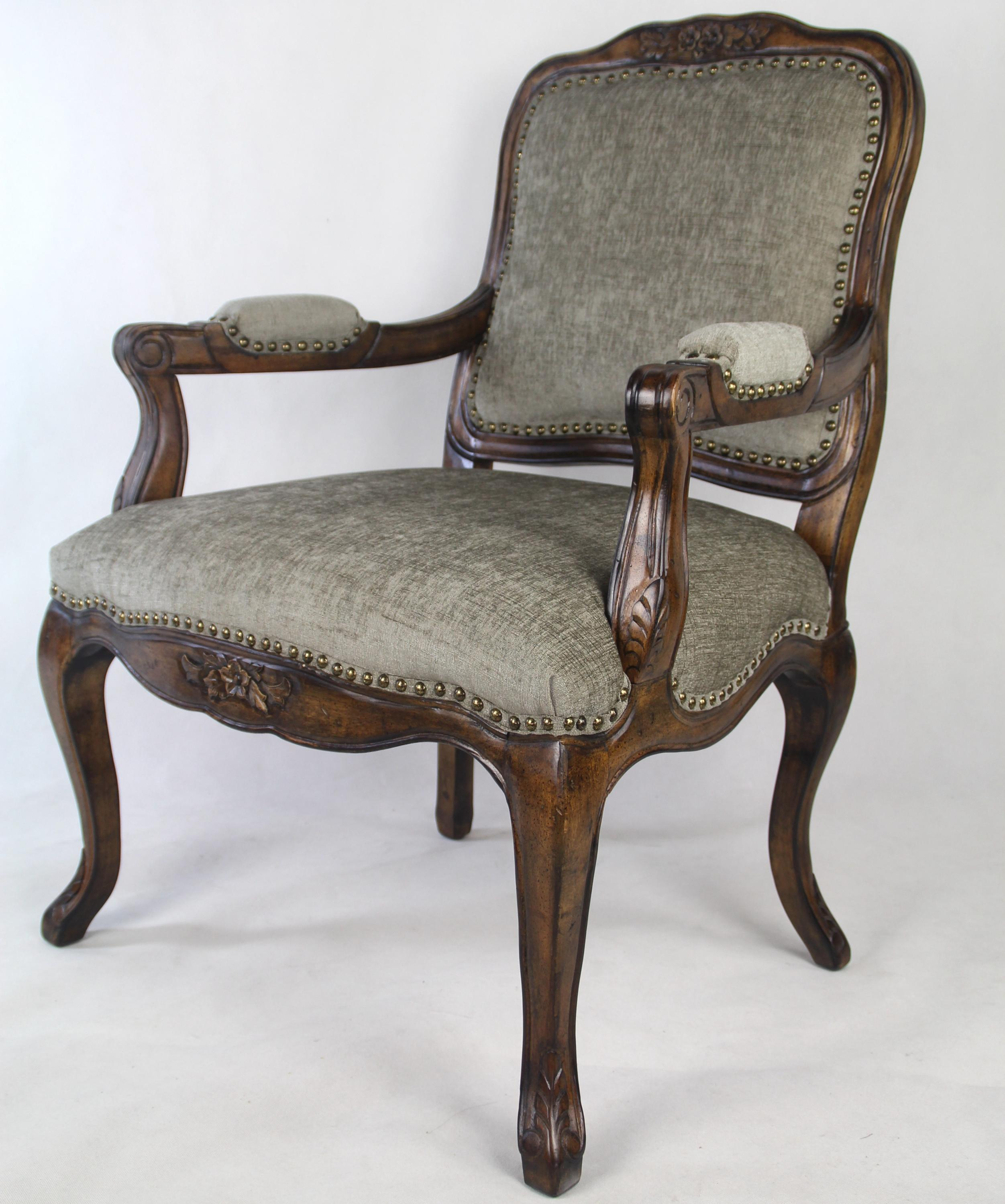Good Quality And Single Antique Furniture Wooden Easy