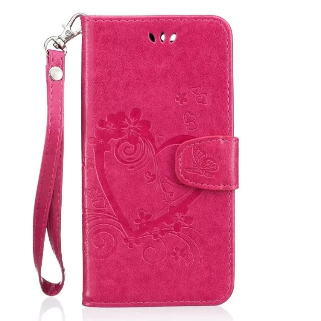 100Pcs/Lot Love Printing Wallet PU Leather +TPU Case For Google Pixel /For Google Pixel XL