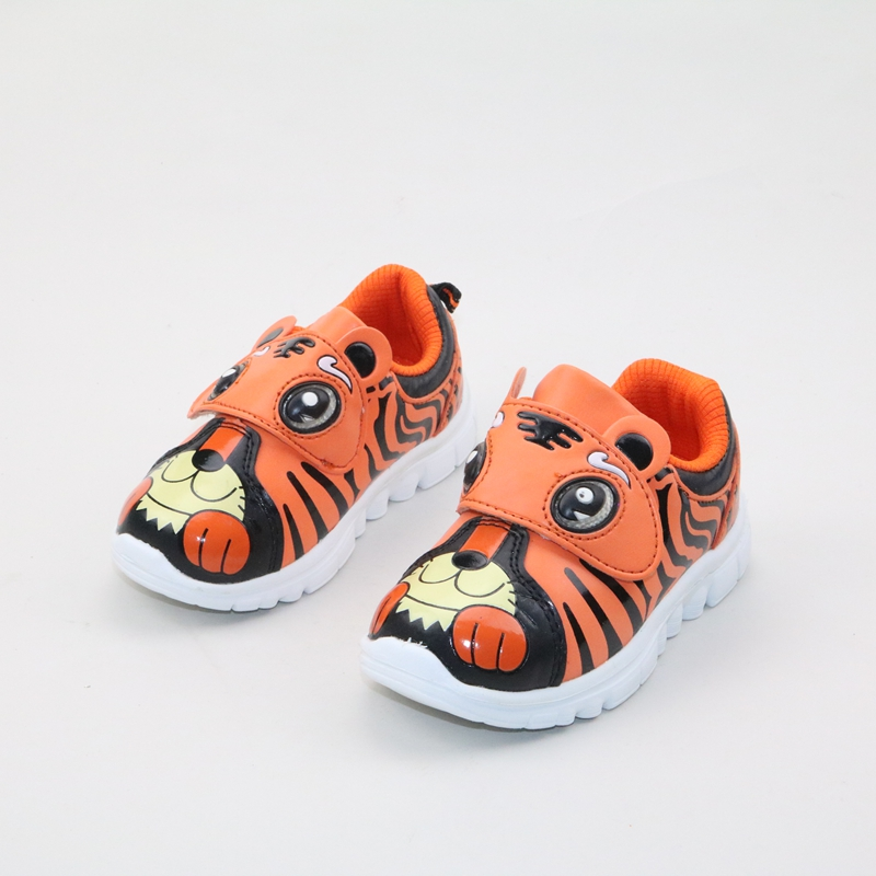 2016 spring and autumn Boy cartoon leisure sports shoes tiger shoes