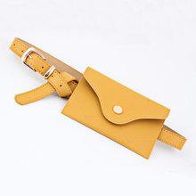 SMILEY SUNSHIEN Брендовая женская поясная сумка, модная поясная сумка, сумка для денег, высококачественный кожаный чехол, Женская набедренная сумк...(Китай)