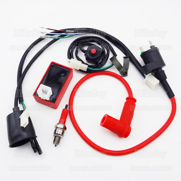 wiring-loom-harness-kill-switch-racing-ignition-coil-5-pin ... kymco cdi box ac plug wiring harness