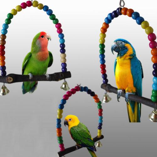 Wood Parrot Toys 78