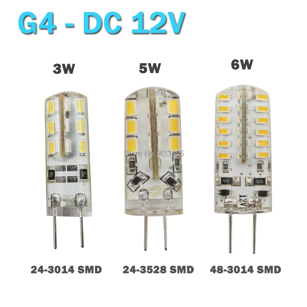 High Power Smd3014 3w 12v G4 Led Lamp Replace 20w Halogen