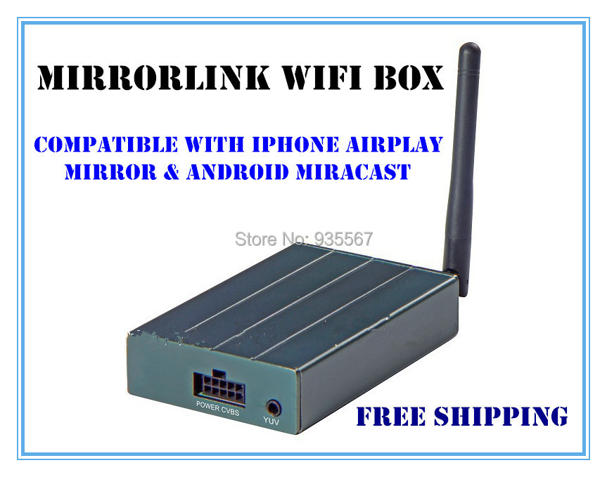 russian mirrorlink wifi box compatible with iphone airplay mirror android miracast universal. Black Bedroom Furniture Sets. Home Design Ideas