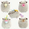 2017 New Kawaii Plush Toys Pusheen Cat Cookie Ice Cream Doughnut 5 Styles Stuffed Animals Christmas