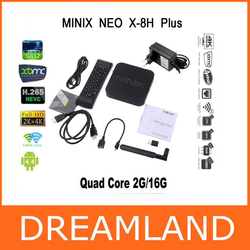 MINIX NEO X8-H Plus Android TV Box Amlogic S812 Quad Core 2.0GHz 2G/16G