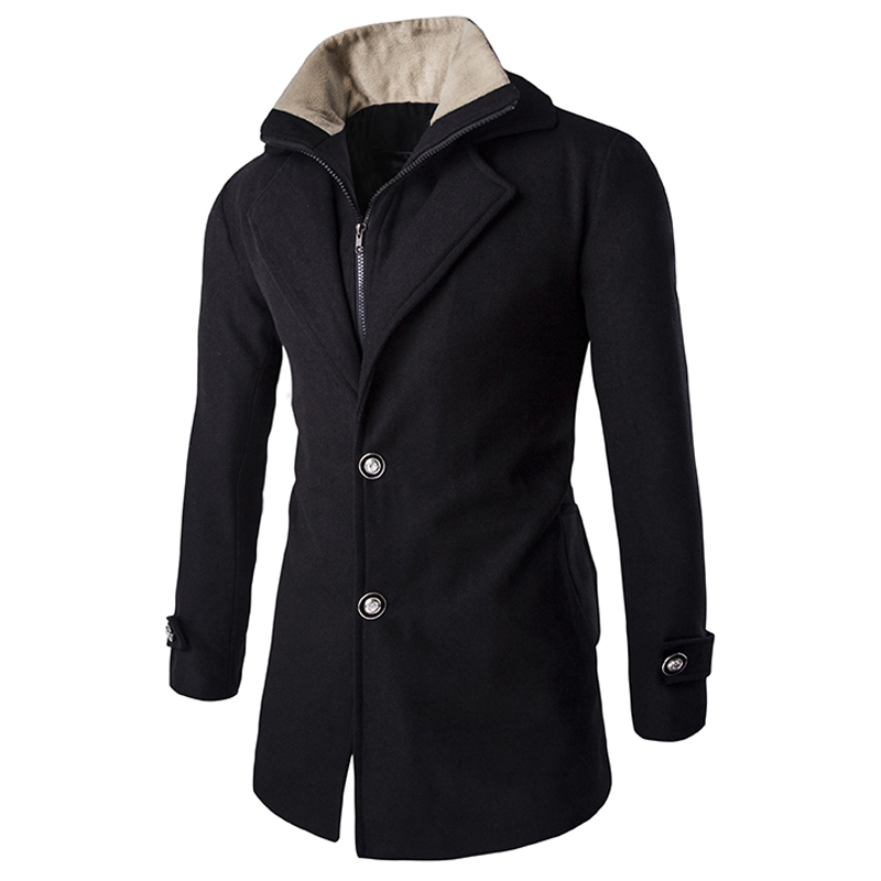 Mens winter overcoats sale