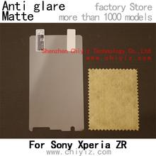 1 x Matte Anti-glare Anti glare Screen Protector Film Guard Cover For Sony Xperia ZR LTE M36h C5502 C5503