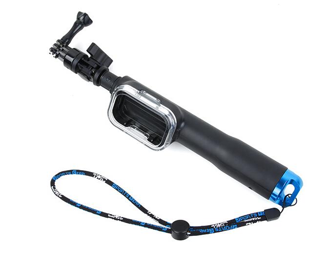 """F11196 Remote Pole Handle Monopod 70cm Wifi Remote Case 28"""" Extendable"""