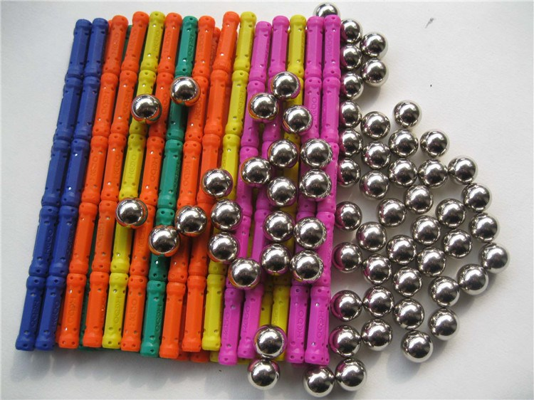 2019 Magnetic Stick Toy 100 Stick 55 Ball Male Girl Block