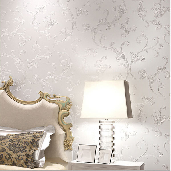 Elegant Wallpaper For Wall: Europe Elegant Acanthus Leaf Non Woven Wallpaper Wall