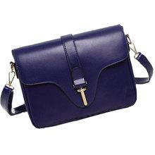 2015 New Brand designer women small messenger bag PU leather solid color shoulder bag fashion vintage girls evening party bag