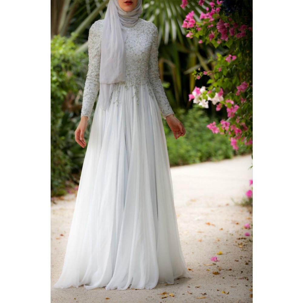 Ihram Kids For Sale Dubai: Hot 2016 White Elegant Muslim Arabic Kaftan Evening